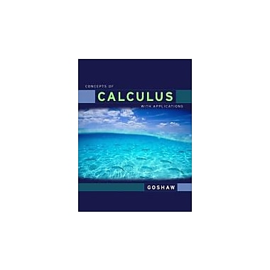Concepts of Calculus With Applications, Updated Edition