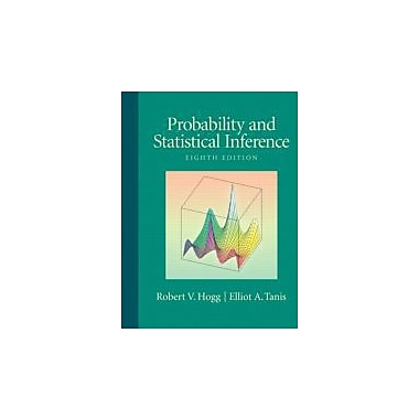 Probability and Statistical Inference (8th Edition), New Book (9780321584755)