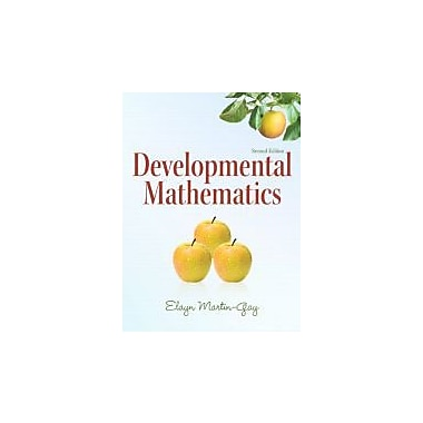 Developmental Mathematics (2nd Edition) (The Martin-Gay Paperback Series), Used Book (9780321652744)