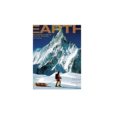 Earth: An Introduction to Physical Geology (10th Edition), New Book (9780321663047)