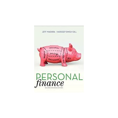 Personal Finance, Second Canadian Edition (2nd Edition), New Book (9780321681393)