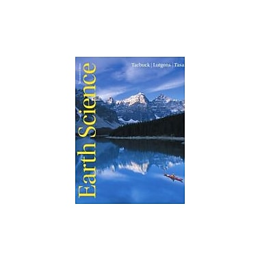 Earth Science (13th Edition), New Book (9780321688507)