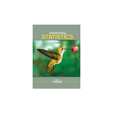 Introductory Statistics (9th Edition), New Book (9780321691224)