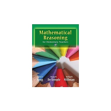Mathematical Reasoning for Elementary School Teachers (6th Edition), New Book (9780321693129)
