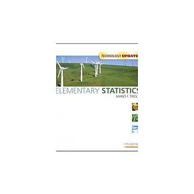 Elementary Statistics Technology Update (11th Edition), Used Book (9780321694508)