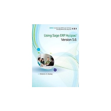 Using Sage ERP Accpac Version 5.6, Used Book (9780321733962)
