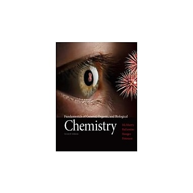 Fundamentals of General, Organic, and Biological Chemistry (7th Edition), New Book (9780321750839)