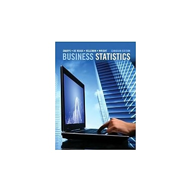 Business Statistics, First Canadian Edition with MyStatLab, New Book (9780321754240)