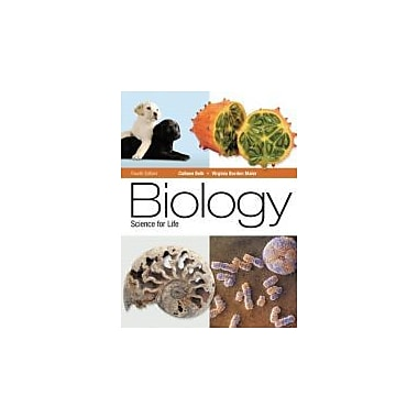 Biology: Science for Life (4th Edition), Used Book (9780321767820)