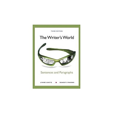 The Writer's World: Sentences & Paragraphs w/NEW MyWritingLab w/eText Access Card Package, New (9780321850478)