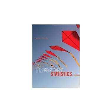 Elementary Statistics Plus NEW MyStatLab with Pearson eText -- Access Card Package (12th Edition), Used Book (9780321890238)