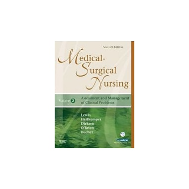 Medical-Surgical Nursing: Assessment and Management of Clinical Problems, 2-Volume Set, 7e, New Book (9780323036887)