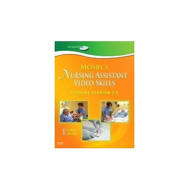 Mosby's Nursing Assistant Video Skills - Student Version DVD 3.0, 3rd Edition