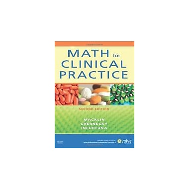 Math for Clinical Practice, 2e, Used Book (9780323064996)