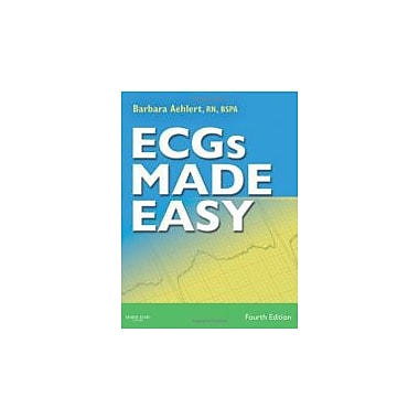 ECGs Made Easy, Fourth Edition (Book & Pocket Reference), New Book (9780323069243)