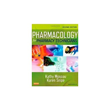 Pharmacology for Pharmacy Technicians, 2e, New Book (9780323084970)