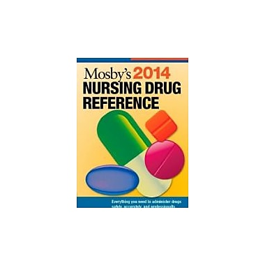 Mosby's 2014 Nursing Drug Reference, 27e (SKIDMORE NURSING DRUG REFERENCE), New Book (9780323170079)