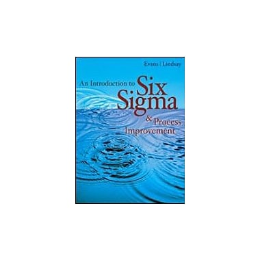 An Introduction to Six Sigma and Process Improvement (with CD-ROM), Used Book (9780324300758)