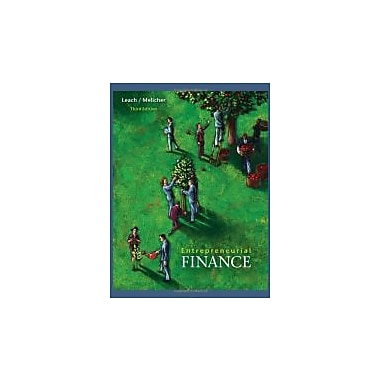 Entrepreneurial Finance, Used Book (9780324561258)