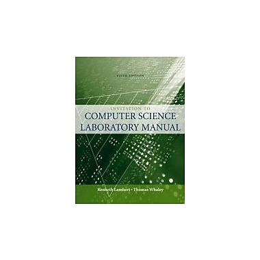 Lab Manual for Schneider/Gersting's Invitation to Computer Science, New Book (9780324788631)
