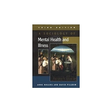 A Sociology of Mental Health and Illness, New Book (9780335215836)