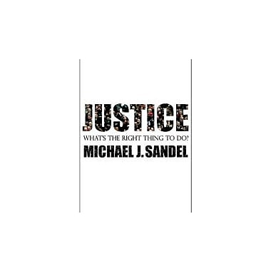 Justice: What's the Right Thing to Do?, New Book (9780374532505)