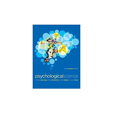 Psychological Science (Third Canadian Edition), New Book (9780393911527)
