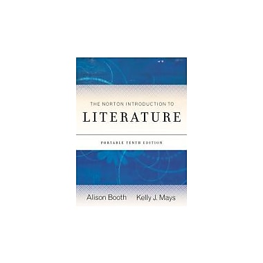The Norton Introduction to Literature (Portable Tenth Edition), New Book (9780393911640)