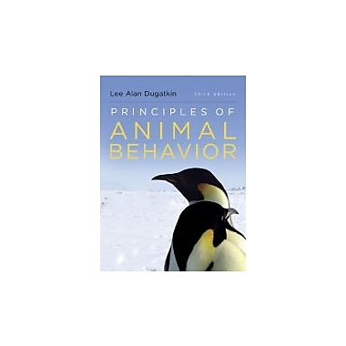 Principles of Animal Behavior (Third Edition), New Book (9780393920451)