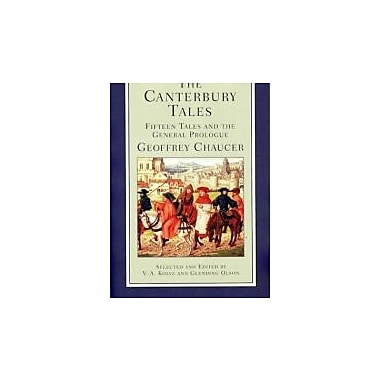 The Canterbury Tales: Fifteen Tales and the General Prologue (Norton Critical Editions), Used Book (9780393925876)