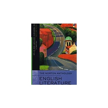 The Norton Anthology of English Literature, Volume F: The Twentieth Century and After, Used Book (9780393927221)