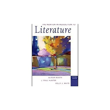 The Norton Introduction to Literature (Portable Edition), New Book (9780393928563)