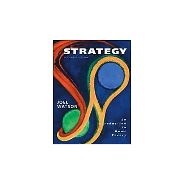 Strategy: An Introduction to Game Theory, 2nd Edition, New Book (9780393929348)