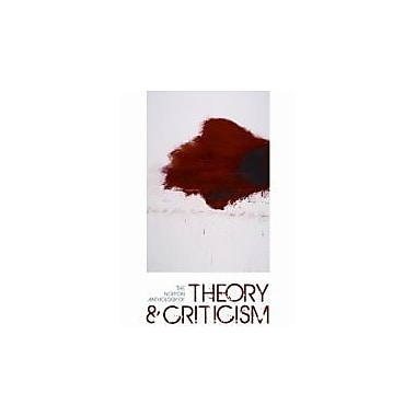 The Norton Anthology of Theory and Criticism (Second Edition), New Book (9780393932928)
