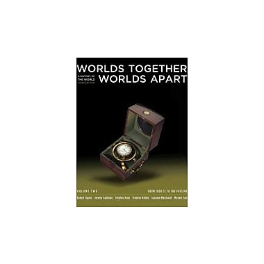 Worlds Together, Worlds Apart: A History of the World: From 1000 CE to the Present ( 3rd Edition) (Vol. 2), New (9780393934946)