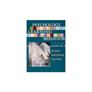 Psychology of Learning and Behavior (Fifth Edition), Used Book (9780393975918)