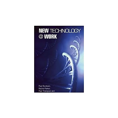 New Technology @ Work, New Book (9780415268974)