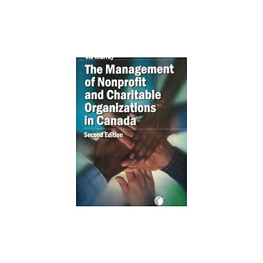 The Management of Nonprofit and Charitable Organizations in Canada, Used Book (9780433462293)