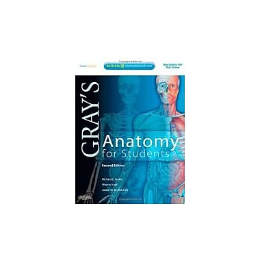 Gray's Anatomy for Students: With STUDENT CONSULT Online Access, 2e, Used Book (9780443069529)
