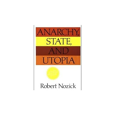 Anarchy, State, and Utopia, New Book (9780465097203)