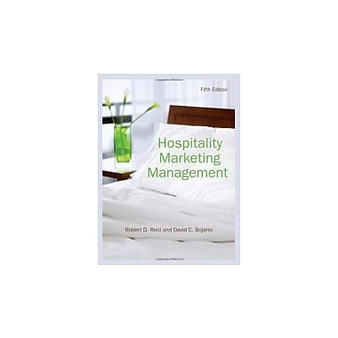 Hospitality Marketing Management, New Book (9780470088586)