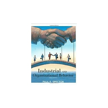Industrial and Organizational Psychology: Research and Practice, Used Book (9780470129180)