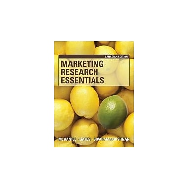 Marketing Research Essentials, Canadian Edition, Used Book (9780470154113)