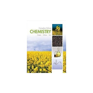 Chemistry Canadian Edition, New Book (9780470155790)