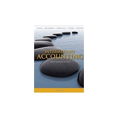 Intermediate Accounting 9th Canadian Edition Volume 2, New Book, (470161019)