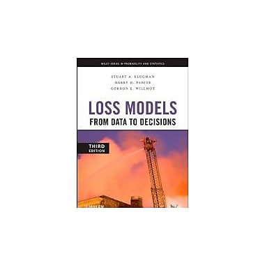 Loss Models: From Data to Decisions (Wiley Series in Probability and Statistics), Used Book (9780470187814)