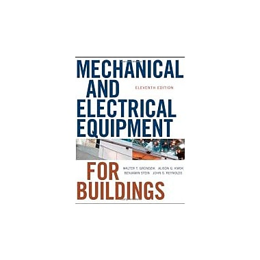 Mechanical and Electrical Equipment for Buildings, New Book (9780470195659)