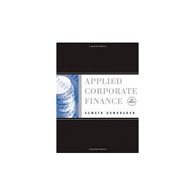 Applied Corporate Finance, Used Book (9780470384640)