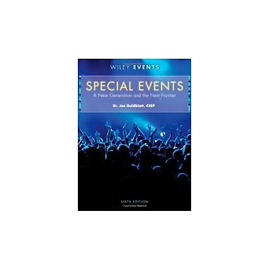 Special Events: A New Generation and the Next Frontier, New Book (9780470449875)