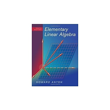 Elementary Linear Algebra, New Book (9780470458211)